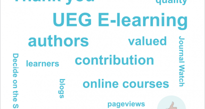 Thank you from UEG E-learning!