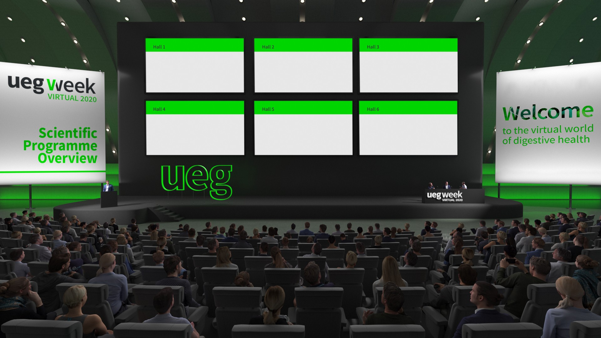 UEG Week Virtual - Lecture Halls