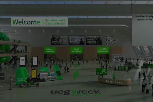 UEG Week Virutal 2020 - Plattform Access