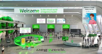 UEG Week Virtual 2021 Platform