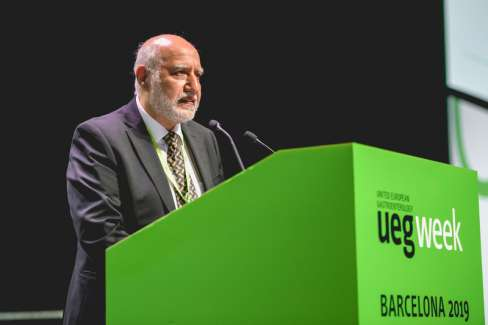 Magdy El-Salhy - UEG Top Abstract Awardee