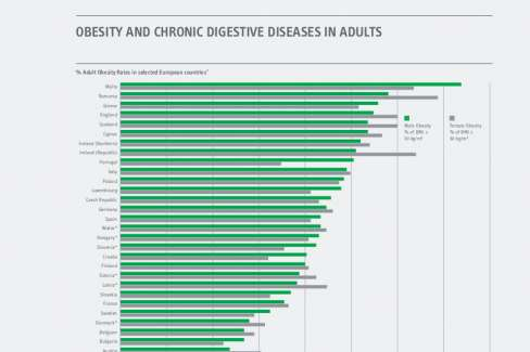 Obesity and Chronic Digestive Diseases in Adults