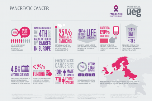 Infographics Pancreatic Cancer