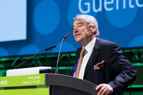Lifetime Achievement Awardee 2016 - Günter J. Krejs, Austria